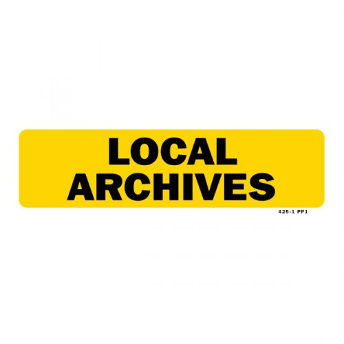 Local archives