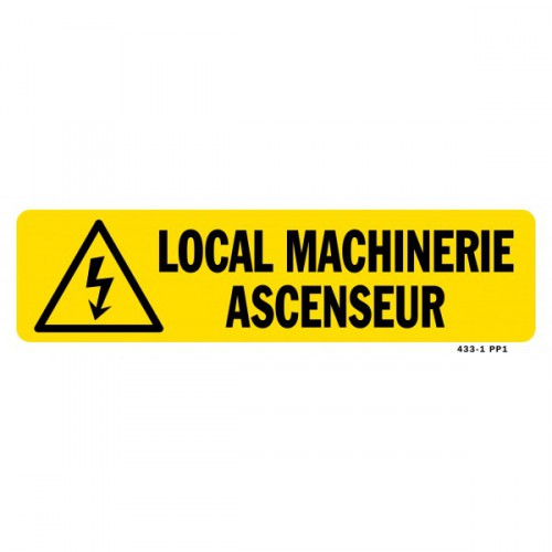 Local machine ascenseur