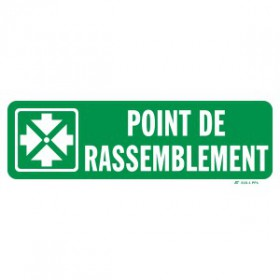 Point de rassemblement large