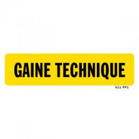 Gaine technique