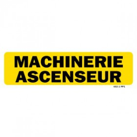 Machinerie ascenseur