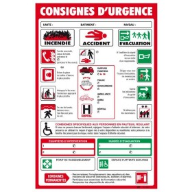 Consigne d'urgence